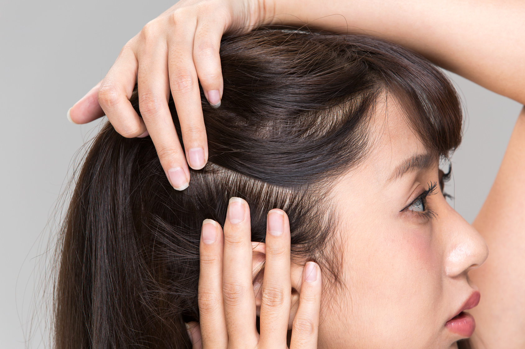 how to scalp massage 1