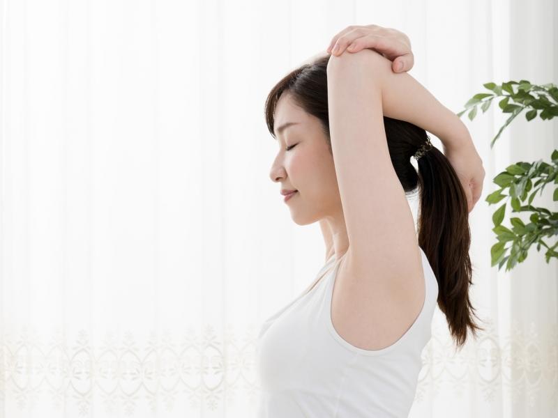 体が硬いと疲れやすい!柔軟ストレッチで体質改善♪