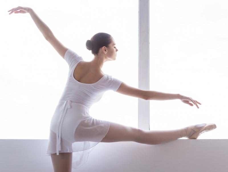 バレエ立ちで美姿勢&痩せ体質をゲット♪